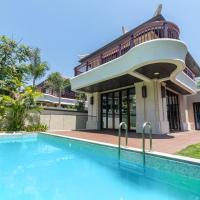 三亚仁恒海棠湾海岸度假别墅「离沙滩100米,毗邻亚特兰蒂斯水世界,免税城」,位于三亚的酒店