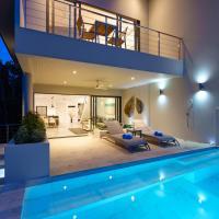 Villa Casa Bella - Sea-View, Private-Pool Villa near Bangrak Beach,位于苏梅岛的酒店