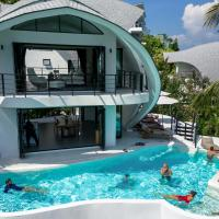 Villa The Spot Koh Samui,位于苏梅岛的酒店