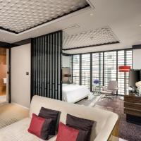 上海浦东丽晶酒店(享东方明珠全景,打卡网红无边泳池)