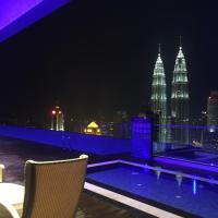吉隆坡城中城区尊贵套房公寓