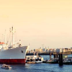 """""""圣地亚哥角号""""货船博物馆, 汉堡"""