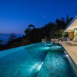 度假屋  10间度假屋位于峇株巴辖