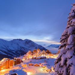 滑雪度假村  1855家滑雪度假村位于萨尔茨堡